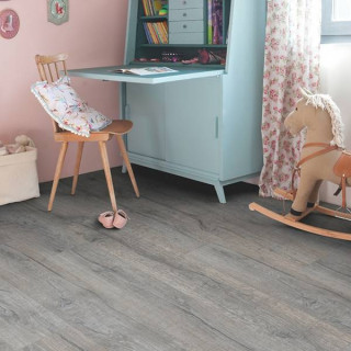 Винил Quick Step Balance Click Plus BACP40037 Дуб хистори серый