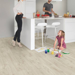 Винил Quick Step Balance Click Plus BACР40038 Дуб каньон бежевый